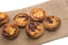 Известный португальский пирог печенья яичка Стоковые Фото