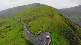 Известный пропуск Connor на полуостров Dingle в Ирландии видеоматериал