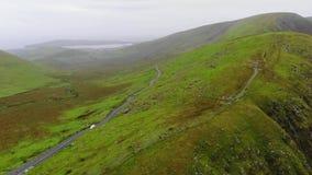 Известный пропуск Connor на полуостров Dingle в Ирландии акции видеоматериалы