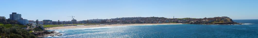 Известный пляж Bondai в Сиднее Стоковое фото RF