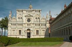 известный скит pavia Италии стоковое фото rf