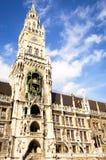 Здание муниципалитет Мюнхен Стоковая Фотография RF