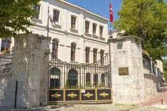 Известный университет Laleli в Стамбуле, Стоковые Изображения