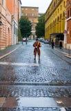 Известный швейцарский предохранитель на государстве Ватикан - швейцарские предохранители в Риме стоковые изображения
