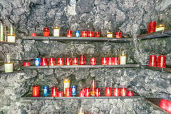 Известный grot Bernadette около дома полета в Sankt Wendel Стоковое Фото