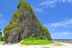 Известняк в северном Samar, Филиппиныы Стоковые Изображения RF