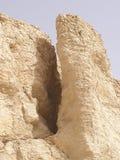 известняк образования пустыни Стоковые Фотографии RF
