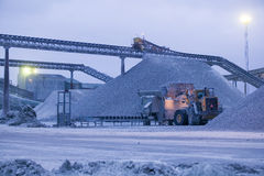 Известняк quarry.JH Стоковые Фотографии RF