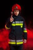 Извещение о безопасности пожарного Стоковые Фотографии RF
