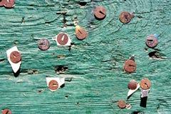 извещение о доски старое Стоковое Фото