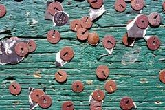 извещение о доски старое Стоковая Фотография RF
