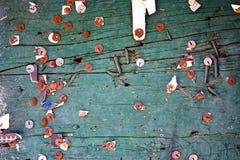 извещение о доски старое Стоковые Фотографии RF