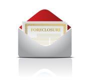 извещение о письма foreclosure бесплатная иллюстрация