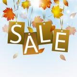 Извещение о продажи осени бесплатная иллюстрация