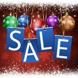 Извещение о продажи рождества иллюстрация штока