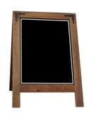 извещение о рамки доски стоковое изображение