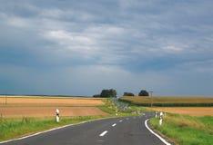 Извилистая дорога Стоковая Фотография