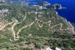 Извилистая дорога Стоковое Изображение RF