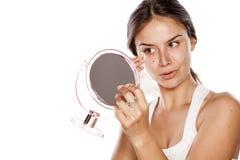Извлекать Make up Стоковое фото RF