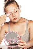 Извлекать Make up Стоковая Фотография RF