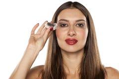 Извлекать Make up Стоковые Изображения RF