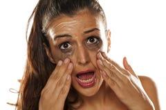 Извлекать Make up Стоковая Фотография