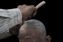 Извлеките волосы к предопределять Стоковое фото RF
