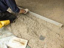 Извлеките строительства цемента Стоковая Фотография RF
