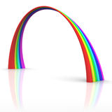 изгибает радугу Стоковые Изображения RF
