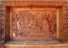 Изгибать работу в Temple-1 стоковое изображение