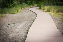 изгибать тротуар Стоковое Изображение RF