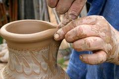 изготавливание керамики Стоковое Изображение RF