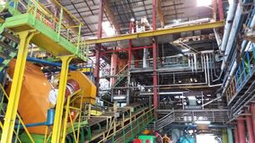 Изготовление сахарного тростника стоковые изображения rf