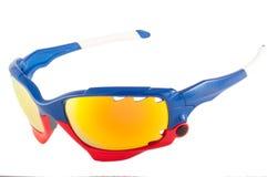 изготовленные на заказ солнечные очки стоковое фото