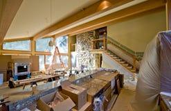 изготовленный на заказ дом remodeling Стоковое Фото