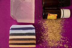 Изготовление мыла в доме Стоковая Фотография
