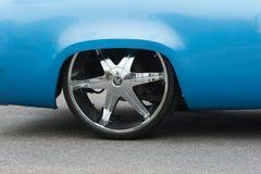 Изготовленная на заказ деталь автомобиля Стоковое фото RF