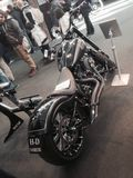 Изготовленные на заказ велосипеды показывают на ЭКСПО 2015 ВЕЛОСИПЕДА МОТОРА ВЕРОНЫ Италии Стоковая Фотография RF