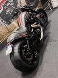 Изготовленные на заказ велосипеды показывают на ЭКСПО 2015 ВЕЛОСИПЕДА МОТОРА ВЕРОНЫ Италии Стоковые Изображения RF