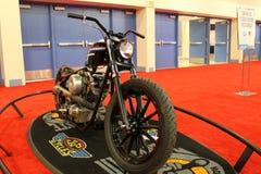 Изготовленный на заказ мотоцикл hd Стоковые Фото
