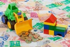 издержки здания стоковые изображения