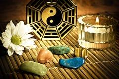 излечивать yang yin стоковые изображения