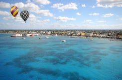 излишек береговой линии воздушных шаров горячий Стоковые Изображения RF