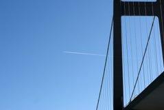 излишек мухы моста высокий стоковое фото rf