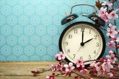 Изменение времени весны Стоковая Фотография RF