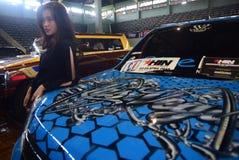 Изменение гоночной машины Стоковые Фотографии RF