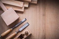 Изменение деревянных инструментов деятельности joiner's дальше Стоковые Изображения RF