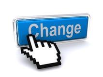изменение кнопки Стоковые Изображения RF