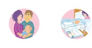 изменение младенца бесплатная иллюстрация