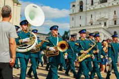 Изменение предохранителя в Кремле стоковые изображения rf